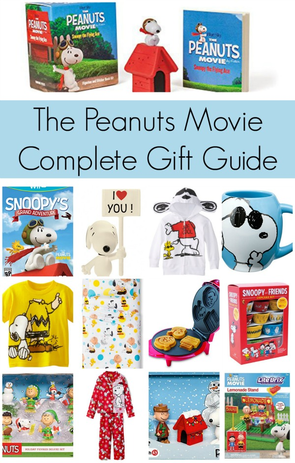 Complete Peanuts Movie Gift Guide | Mommy Evolution