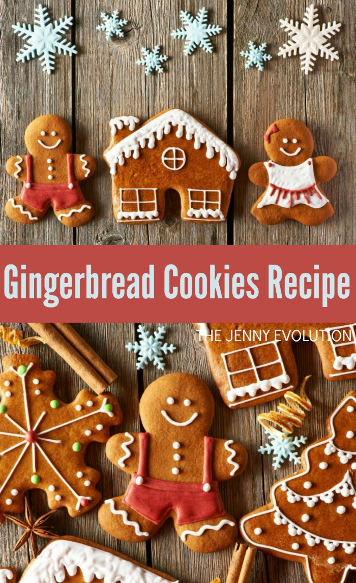 Gingerbread Cookies Recipe | Mommy Evolution