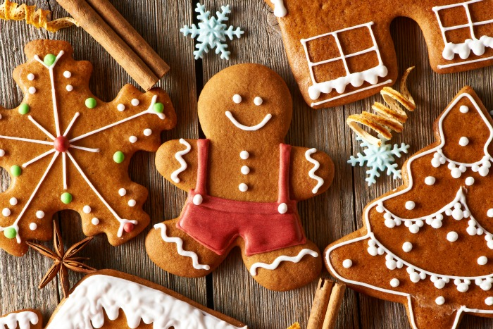 Gingerbread Recipe in All Shapes and Sizes