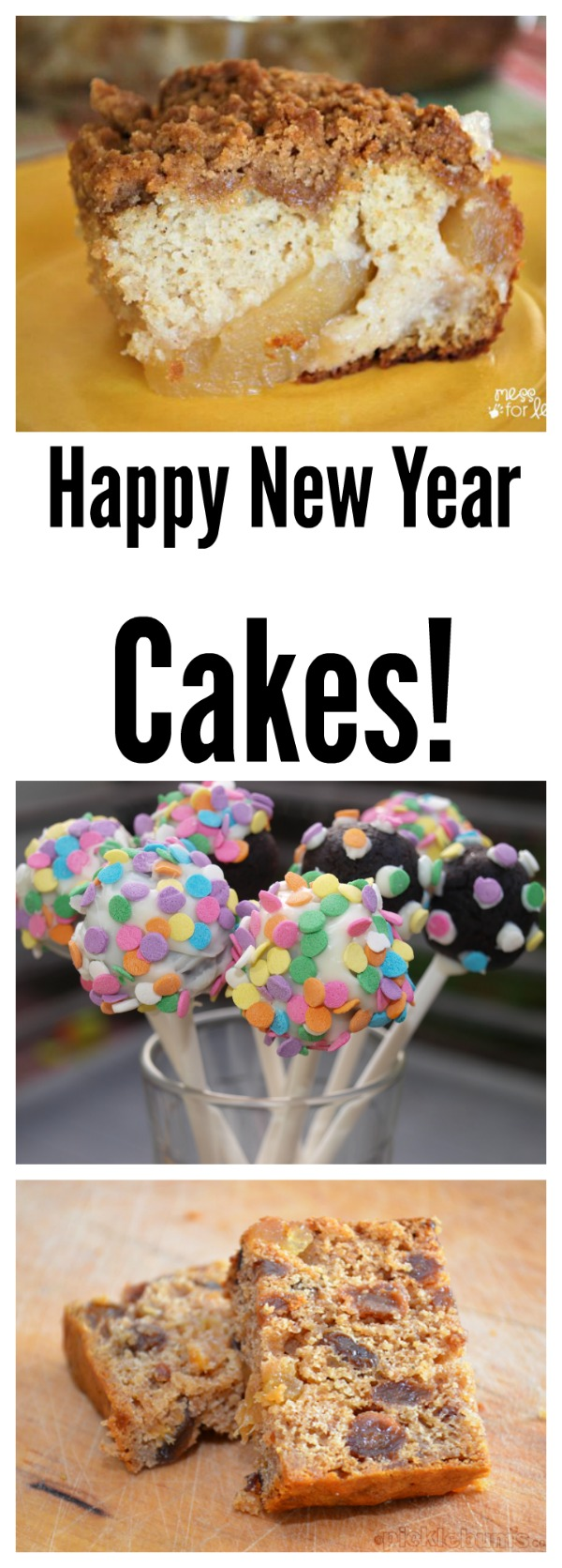 Happy New Year Cakes! Create a new tradition with these celebration recipes | The Jenny Evolution