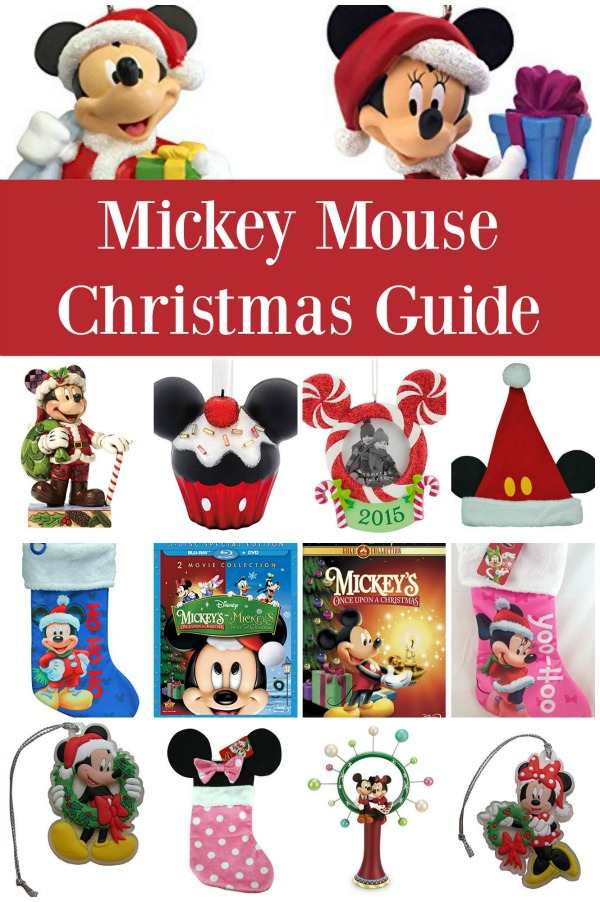 ultimate mickey mouse christmas guide the jenny evolution - Mickey Mouse Christmas Decorations