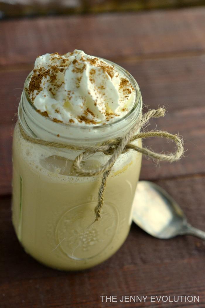 Starbucks Eggnog Latte Copycat Recipe | The Jenny Evolution