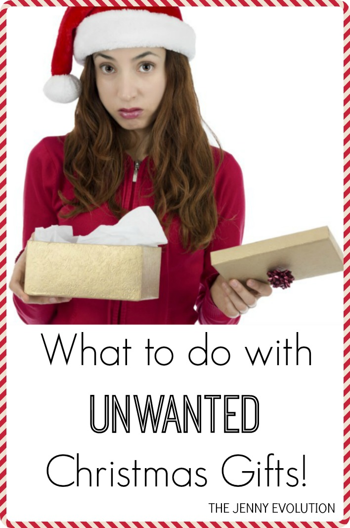 What to Do with Unwanted Christmas Presents? | The Jenny Evolution