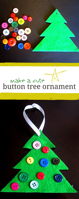 Make a Cute Button Tree for Christmas