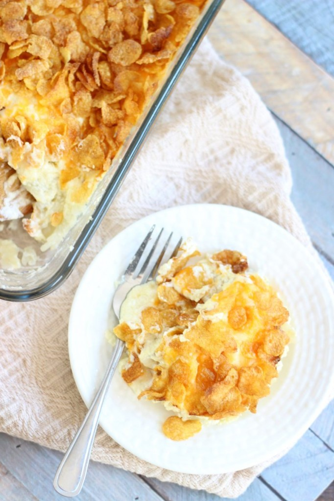 Grandma's Cheesy Potatoes Recipe
