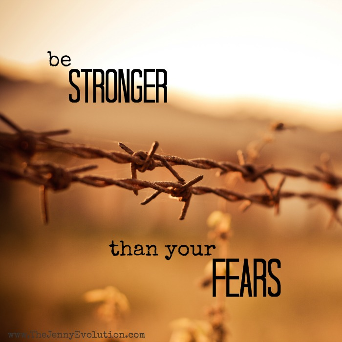 Be Stronger Than Your Fears. One Line Affirmations for Moms