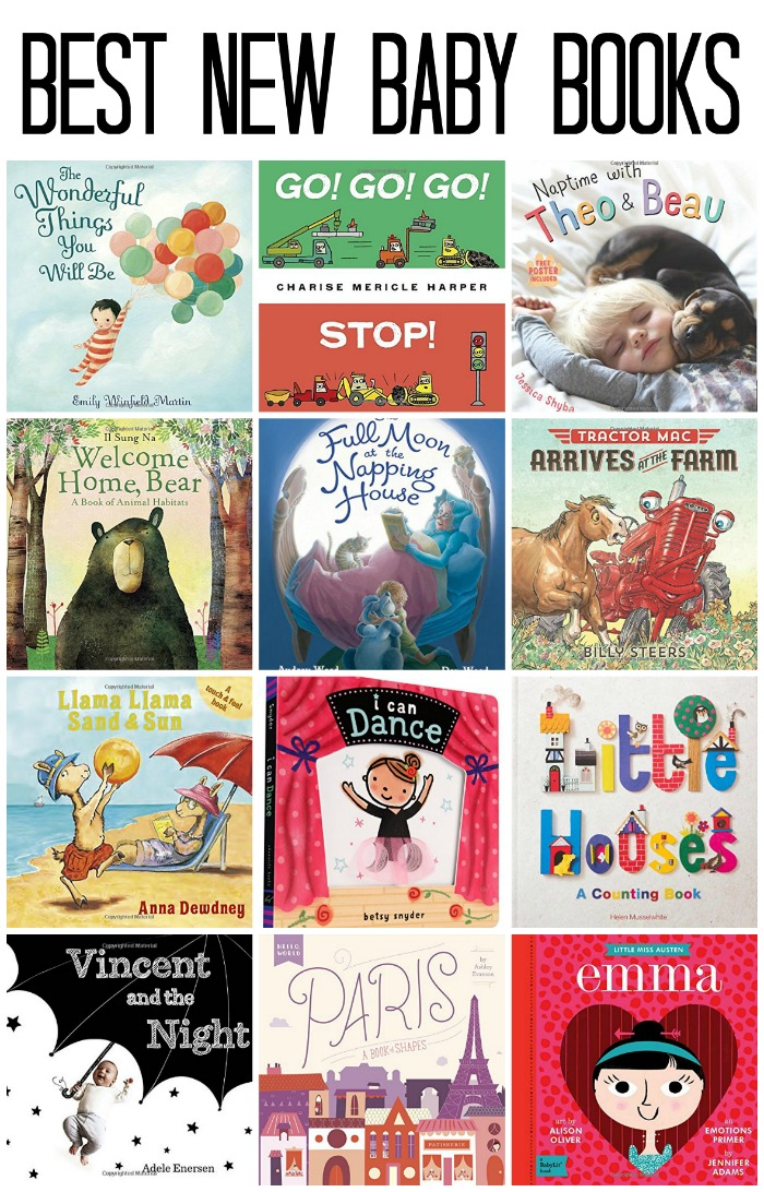 Best New Baby Books of 2015