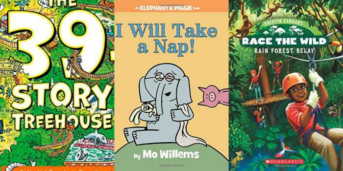 early elementary education fiction books