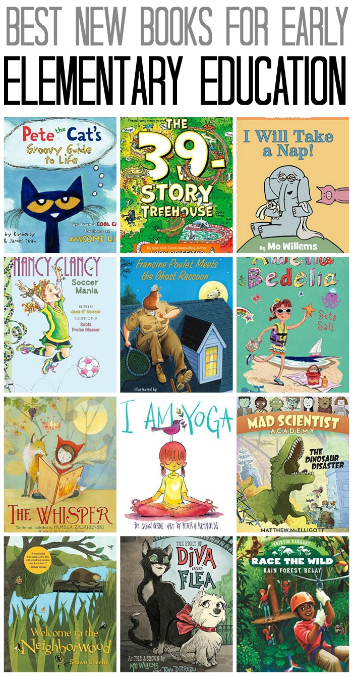 Best New Books for Early Elementary Education of 2015 | The Jenny Evolution