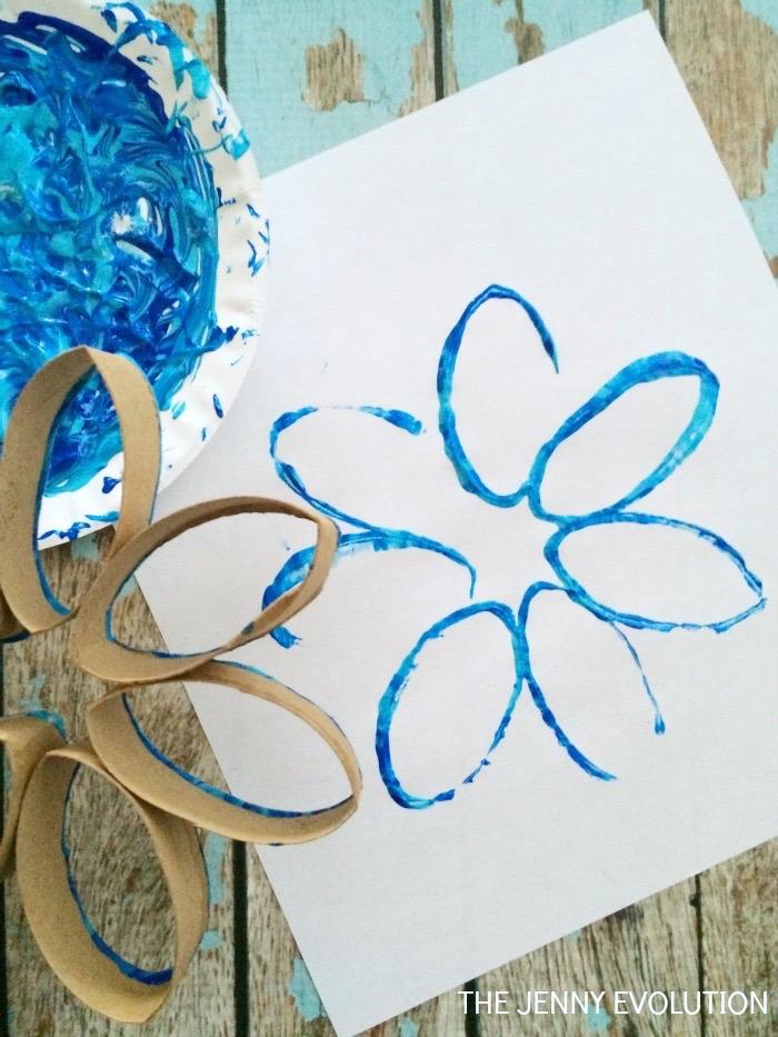 Cardboard Snowflake 3