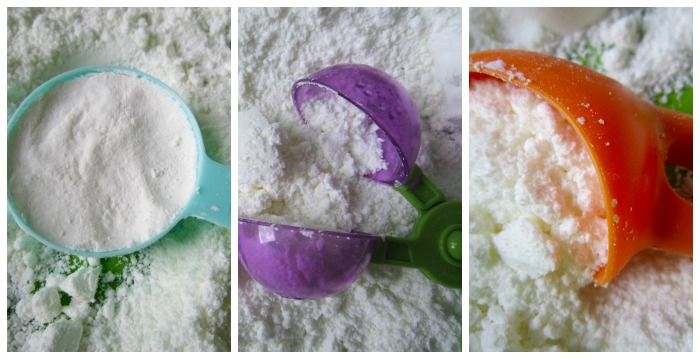 Fake Snow Play and Recipe