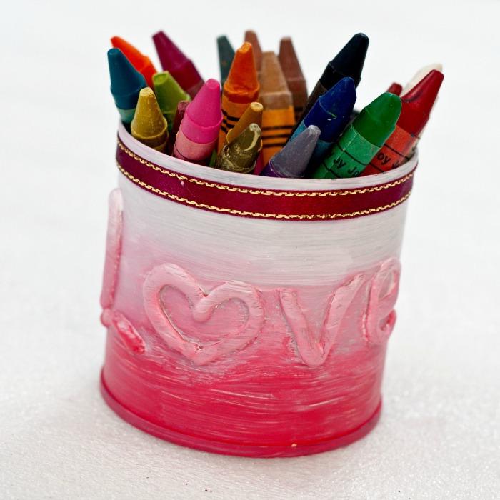 Finish Crayon Organizer