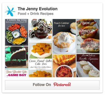 Food Pinterest Board with The Jenny Evolution
