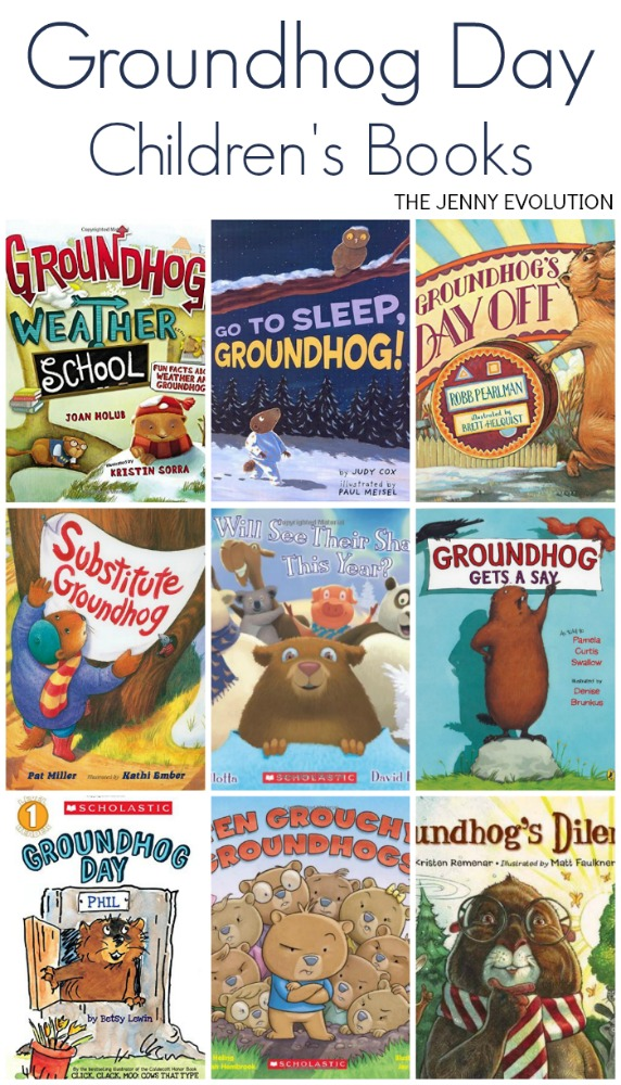 Groundhog Day Children's Books for Kids | The Jenny Evolution