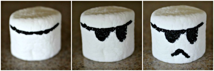 How to Create Storm Trooper Marshmallows | The Jenny Evolution