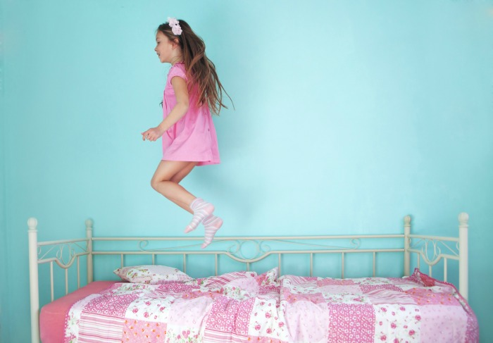 Jumping on the Bed - Sensory Benefits