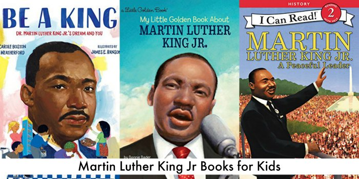Martin Luther King Jr Books for Kids