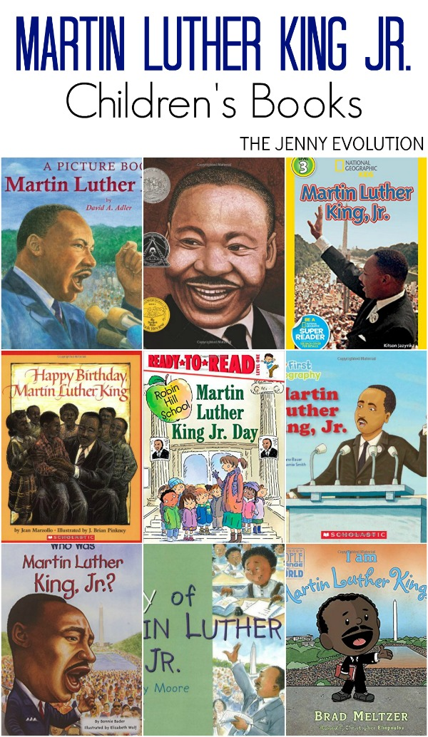 Martin Luther King Jr Books for Kids. Wonderful books to read to Black History Month, too!
