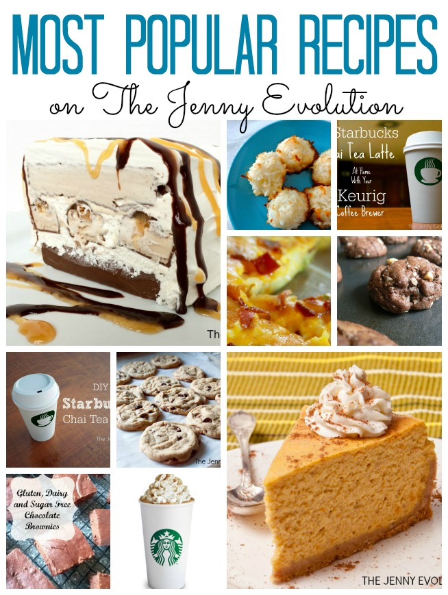 Most Popular Recipes on The Jenny Evolution