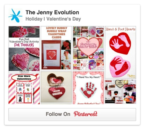 Pinterest Valentine Board