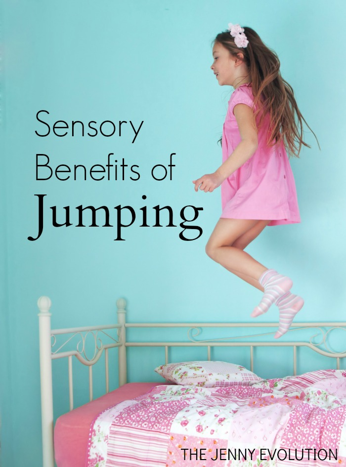 Sensory Benefits of Jumping | Mommy Evolution