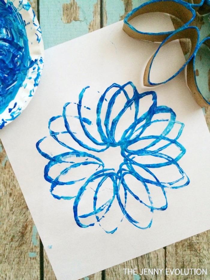 Snowflake Craft Ideas 5
