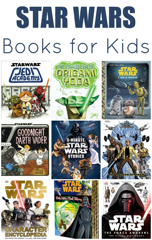 Star Wars Books for Kids | Mommy Evolution