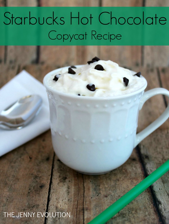 Starbucks Hot Chocolate Copycat Recipe. Get ready for some serious chocolatey goodness!