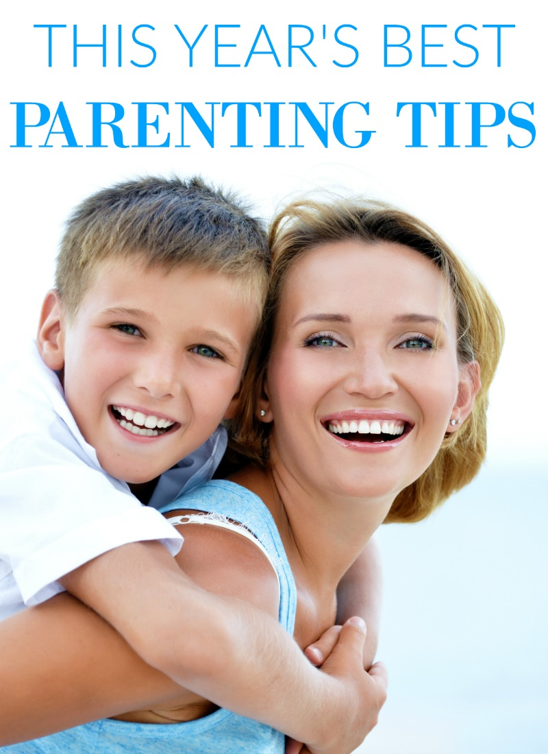 This Year's Best Positive Parenting Tips! Tips from more than 30 bloggers!