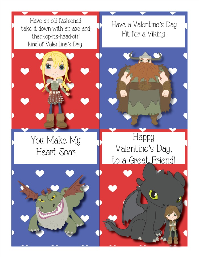 How to train your dragon valentine cards free printables the how to train your dragon valentine cards out when youre ready trainyourdragonvalentine ccuart Choice Image