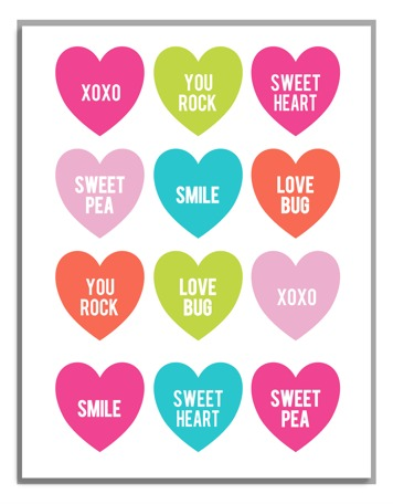 Mini Valentine Cards