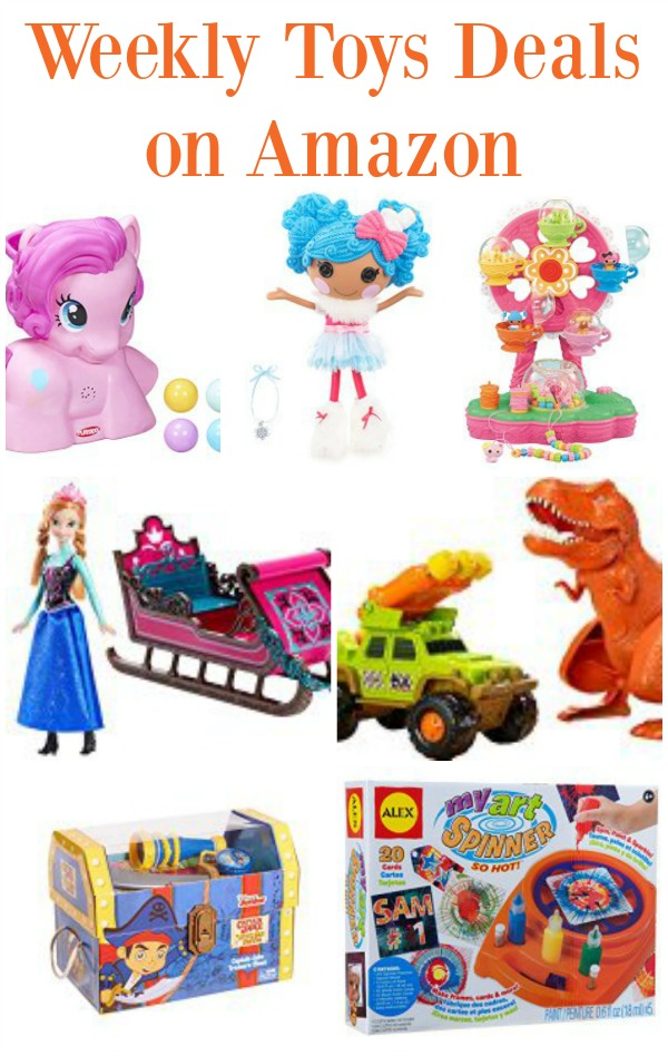 Weekly Toys Deals on Amazon