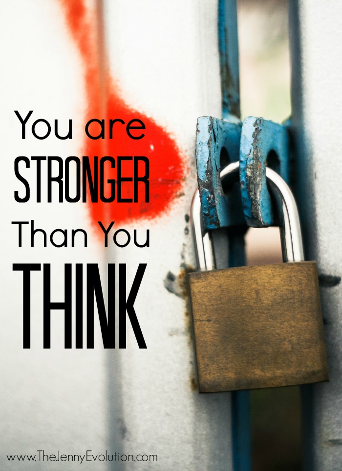 You Are Stronger Than You Think. One Line Affirmations for Moms