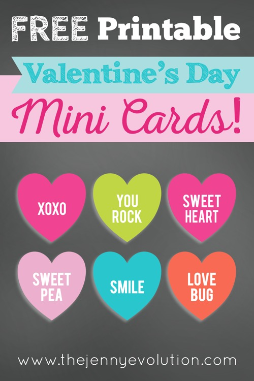 4 Ways to Use FREE Printable Valentine Cards. You'll love these ideas!