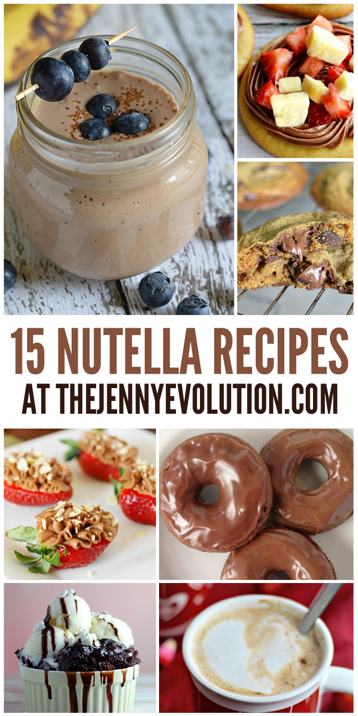 15 Inventive Nutella Recipes