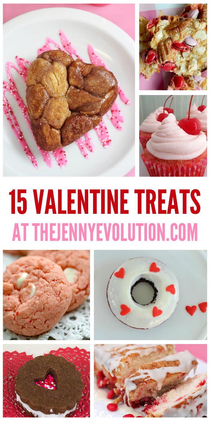15 Valentine Treat Recipes