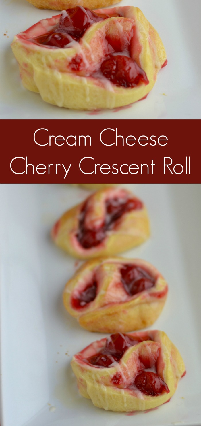 Cream Cheese Cherry Crescent Roll Recipe