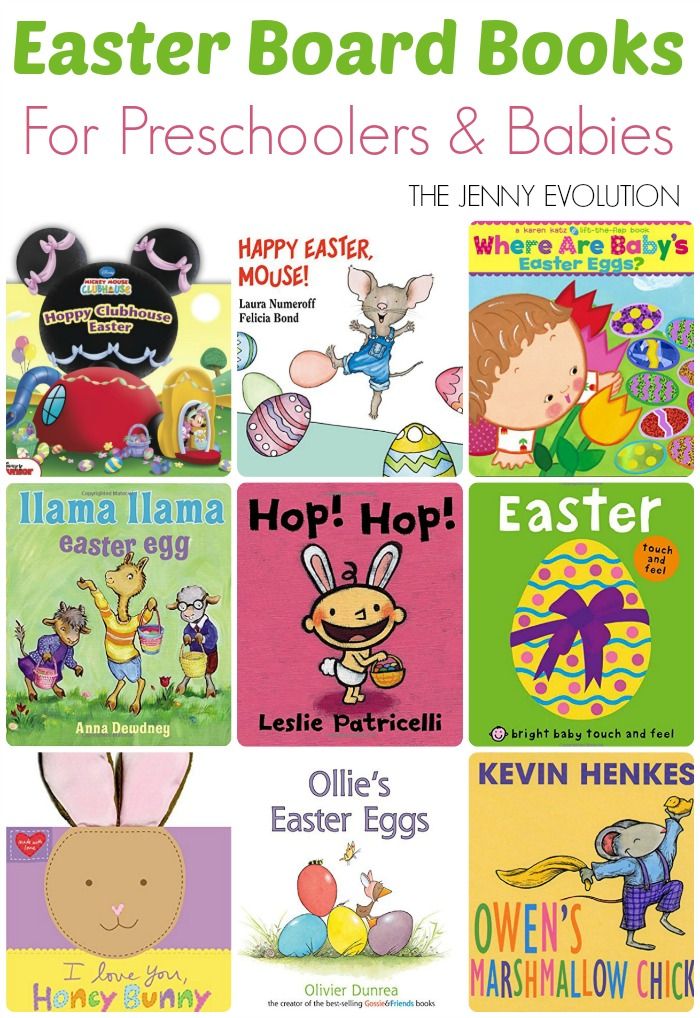 Easter Board Books for Preschoolers and Toddlers