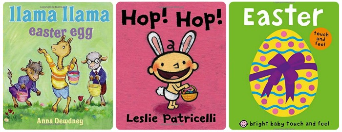 easter board books - llama llama easter egg; hop! hop! and Easter Touch and Feel