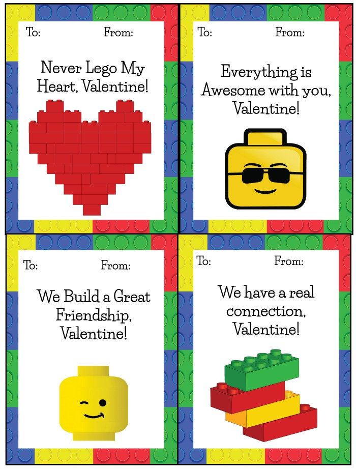 image about Printable Valentines Cards for Kids referred to as 60 Totally free Valentines Working day Cl Card Printables for Kids
