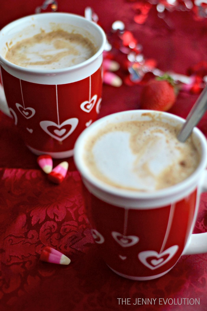 Recipe for 2 Nutella Cafe Lattes