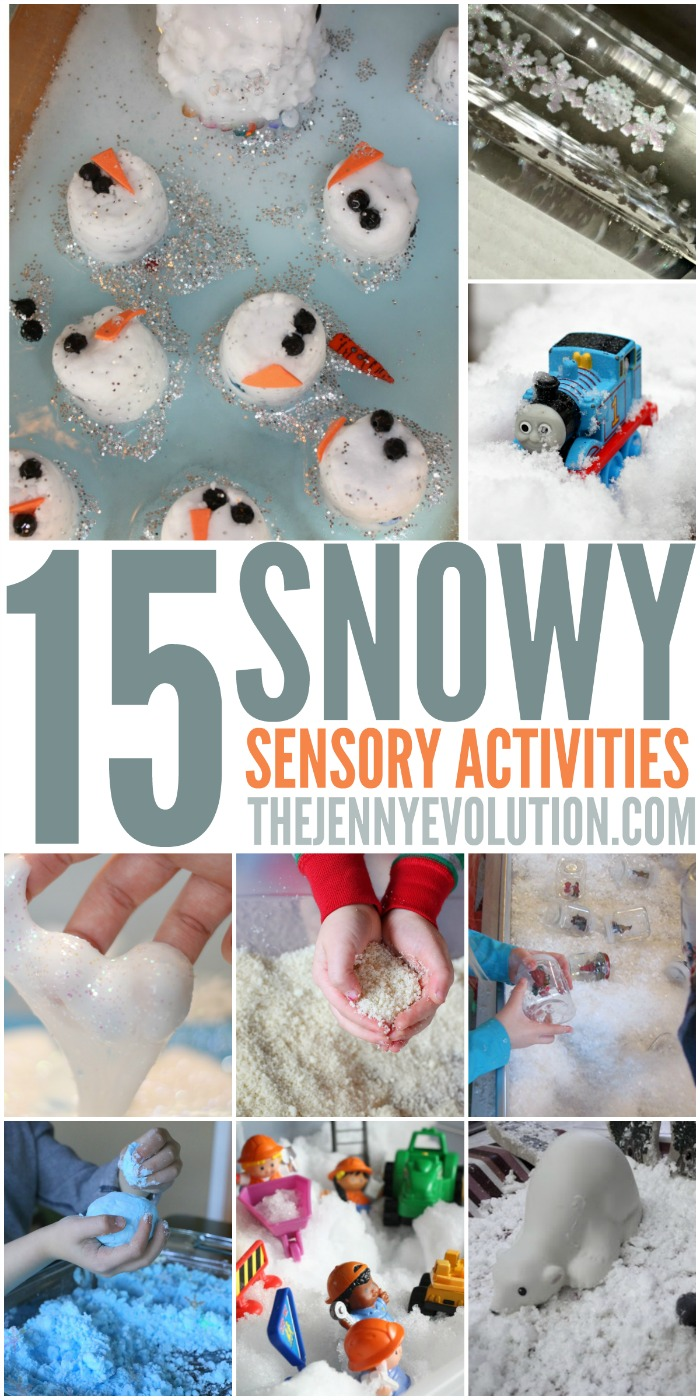 Winter Sensory Snow Activities | Mommy Evolution