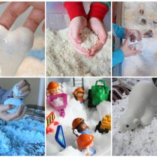 Winter Sensory Snow Activities