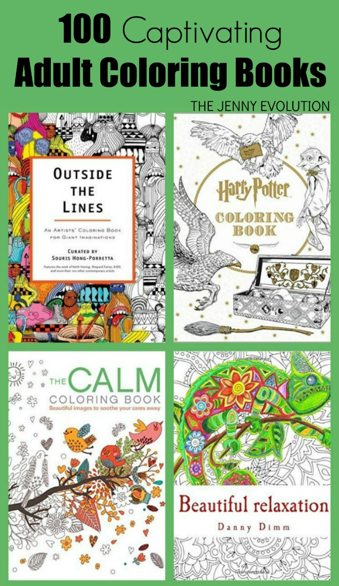 100 Adult Coloring Book Ideas | Mommy Evolution