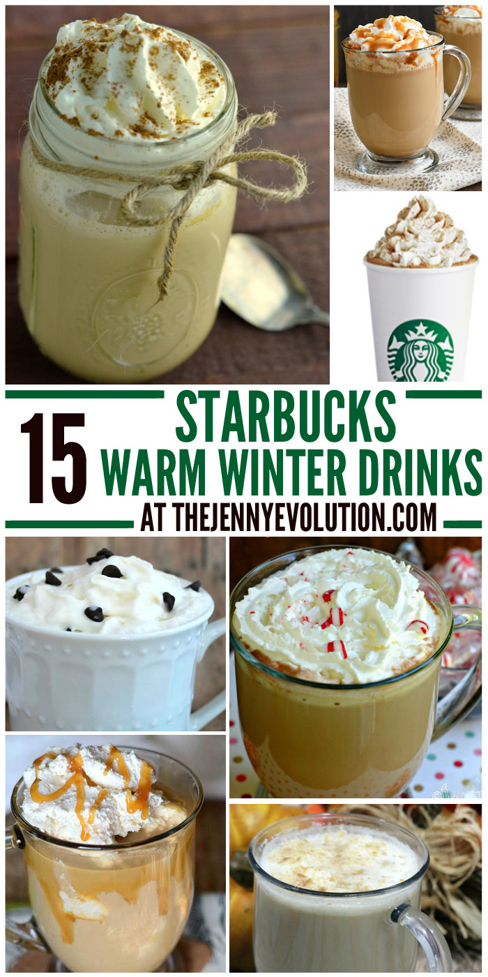 15 Starbucks Warm Winter Drink Copycat Recipes
