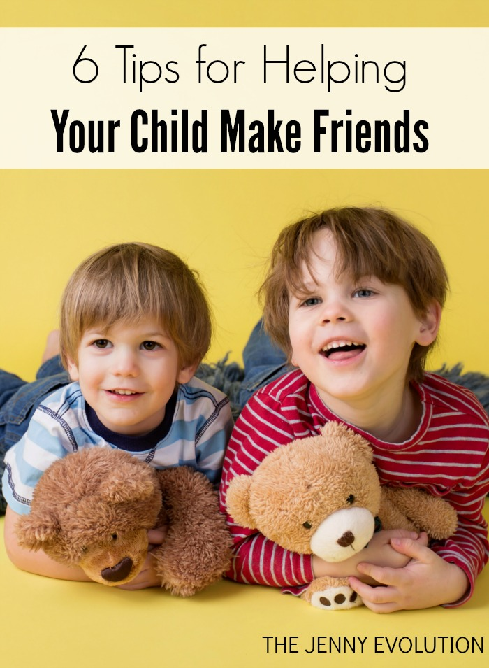 6 Tips for Helping Your Child Make Friends