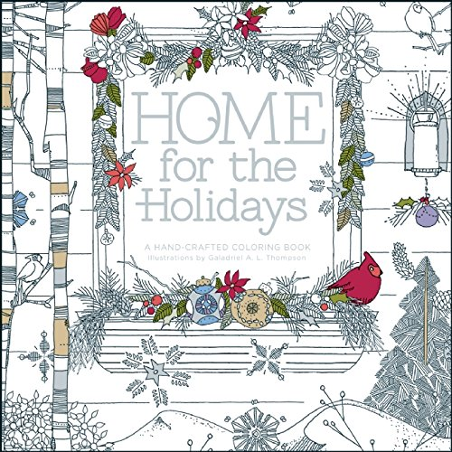 Adult Christmas Coloring Books