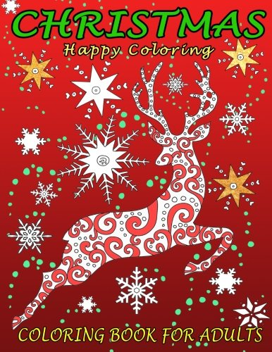 christmas coloring book for adults this coloring book contains twenty four original and festive christmas illustrations from snowflakes to trees