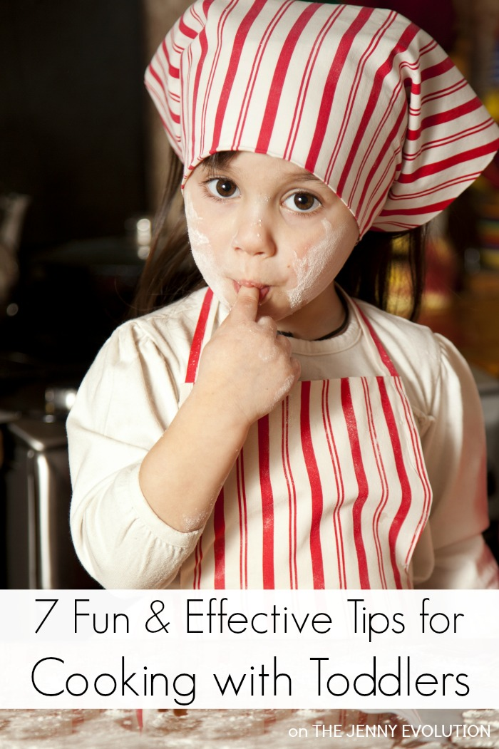7 Fun Tips for Cooking with Toddlers