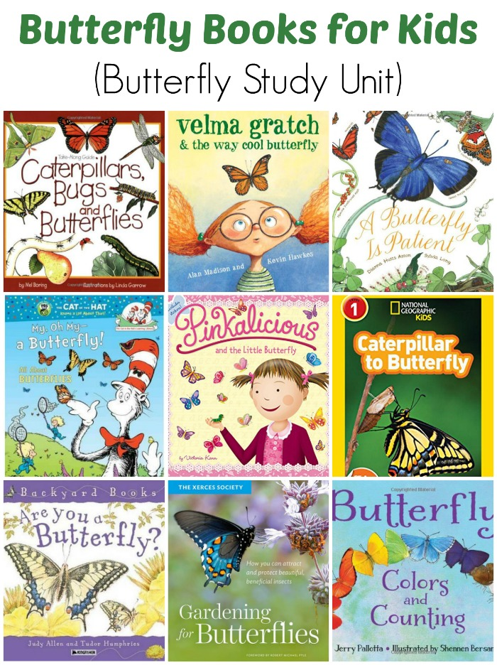 Butterfly Books for Children